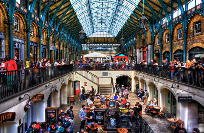 Jubilee Market Hall in Covent Garden