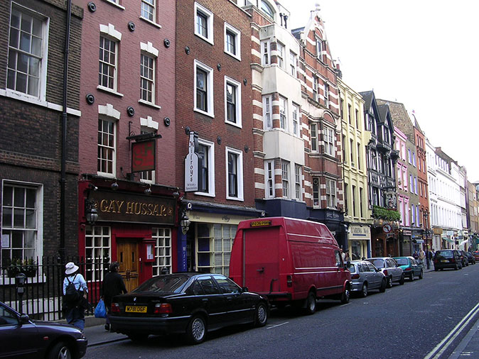 Greek Street, Soho