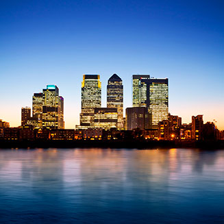 Canary Wharf, the most popular offices in London