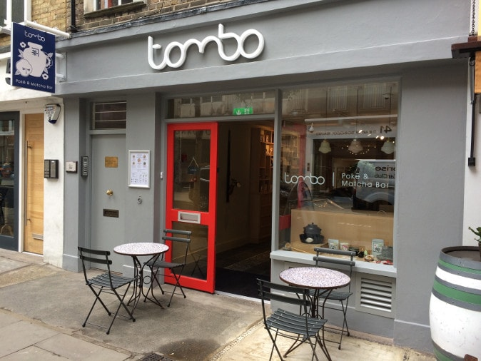 Tombo in Fitzrovia